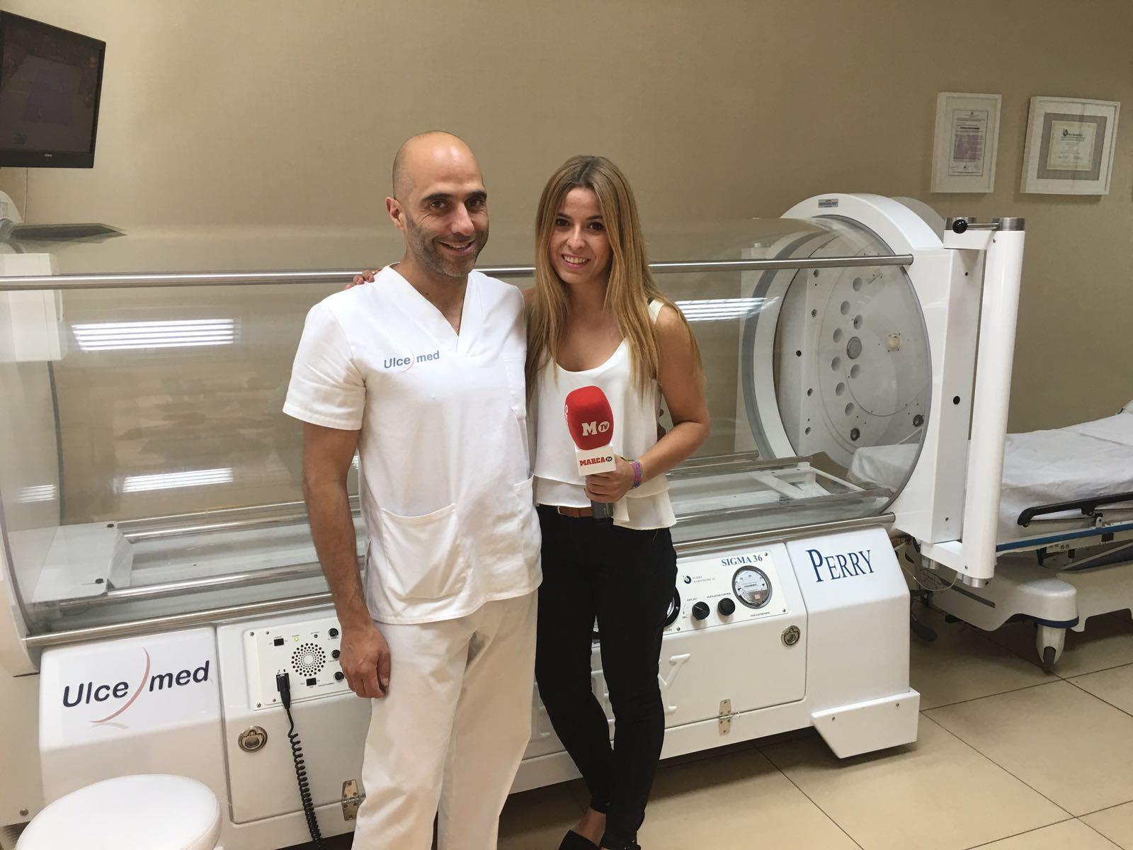 cámara hiperbárica en Madrid